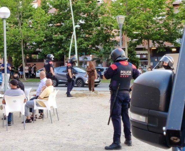 Dispositiu policial barris de ponent- Mossos4